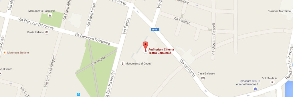 apri la cartina su google maps