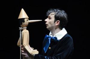 Pinocchio - (s) nella foto Paolo Cioni - foto di Cristina Andolcetti e M. Ammannati